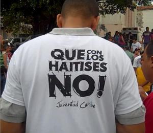con los haitises no!